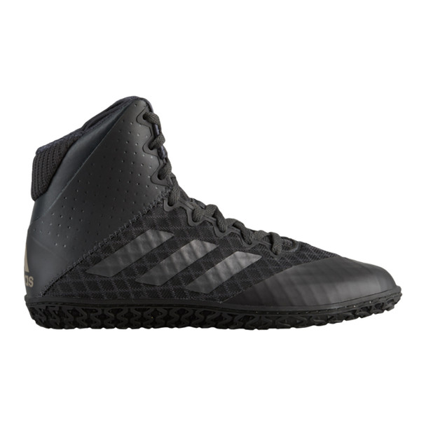 Adidas Mat Wizard 4 Youth Wrestling Shoes AH2134 - Black, Carbon