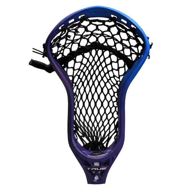 True Key Custom Strung Lacrosse Head - Purple