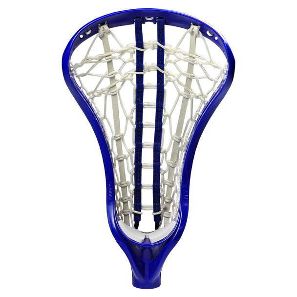 Debeer NV3 Gripper Pocket Strung Lacrosse Head - Royal