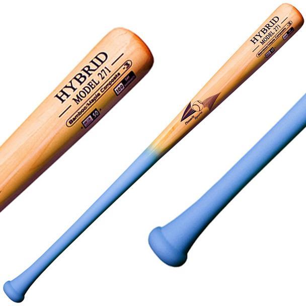 BamBoo Bat Hybrid 271 Bamboo Maple BBCOR Baseball Bat - Natural, Columbia