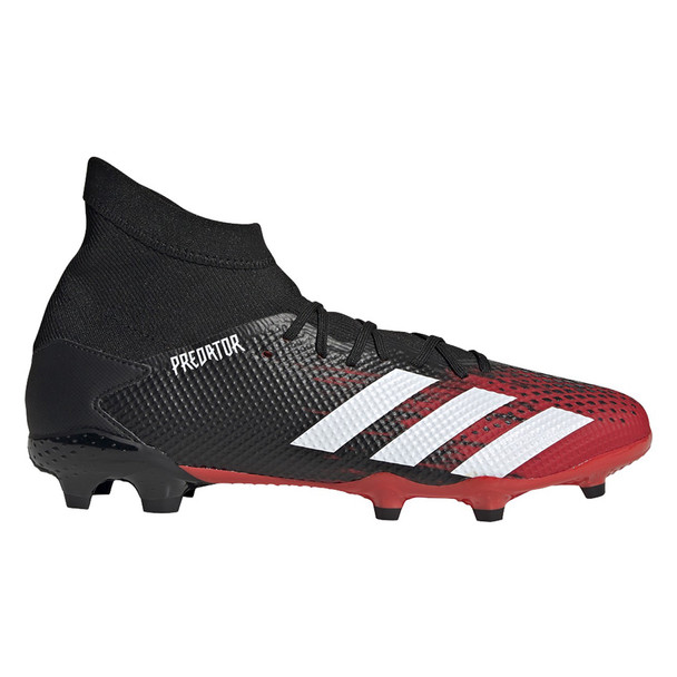 Adidas Predator 20.3 FG Adult Soccer Cleats EE9555 - Red, White, Black
