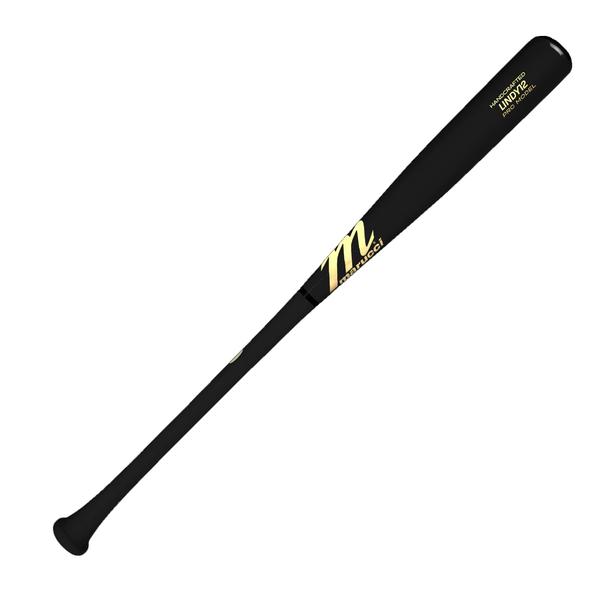 Marucci LINDY12 Francisco Lindor Pro Model Baseball Bat - Black, Black