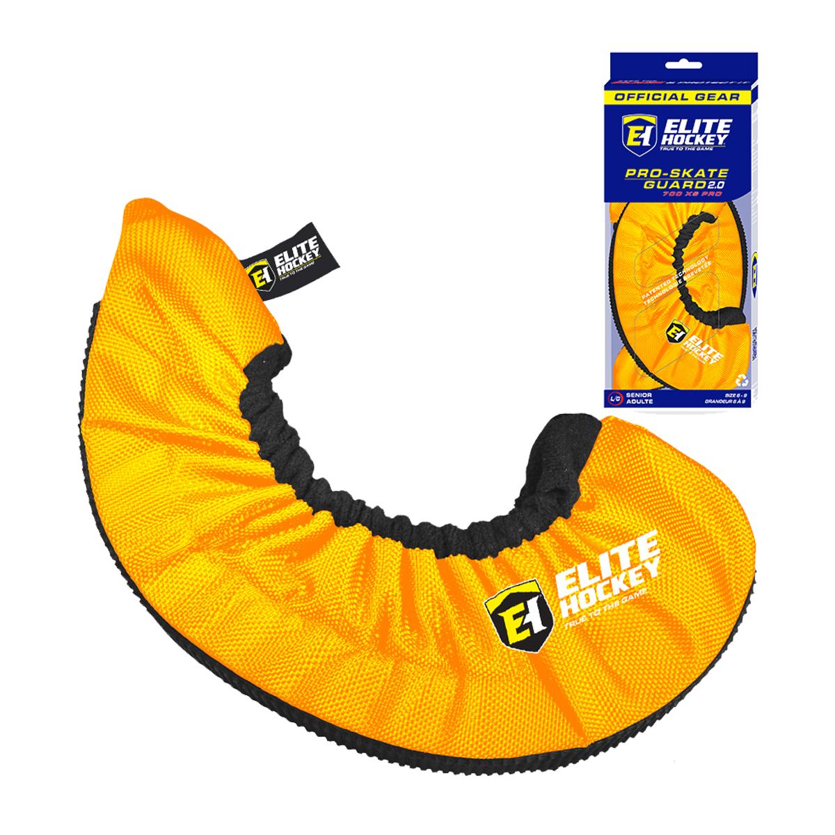 Elite Hockey 700XS Pro Hockey Skate Guards NEW Yellow