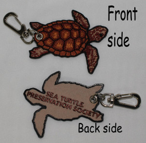 STPS Embroidered Key Clip