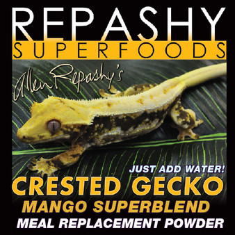 Repashy, Repashy Superfoods, Crested Gecko MRP Diet Mango Superblend 3 oz JAR