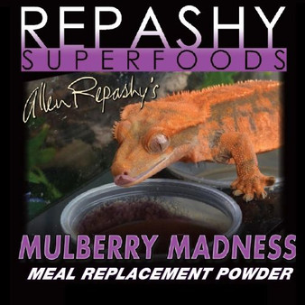 "Repashy, Repashy Superfoods, Crested Gecko MRP ""Mulberry Madness"" 3 oz JAR"