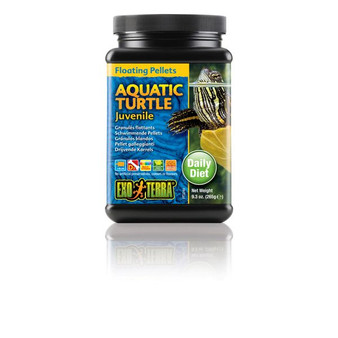 Exo Terra Juvenile Aquatic Turtle Food 9.3 oz