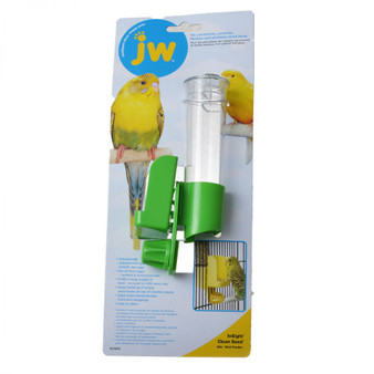 JW Pet Clean Seed Silo Bird Feeder
