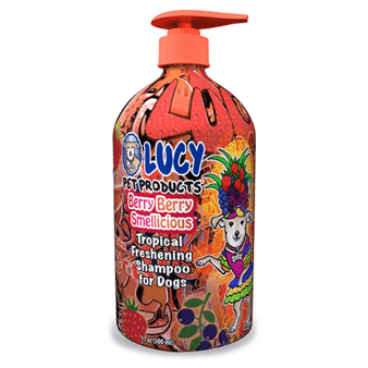 Berry Berry Smellicious™ Shampoo, Lucy Pet Products