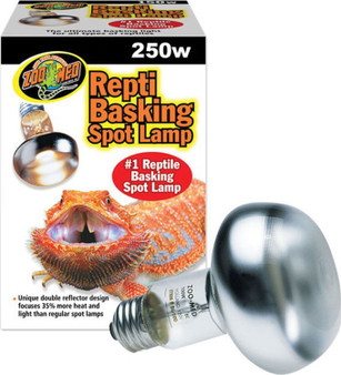 Zoo Med Basking Spot Lamp 250w, Reptile light