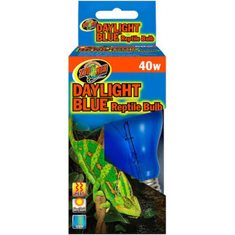 Zoo Med Daylight Blue Reptile Bulb, Zoo Med light bulb, Reptile light