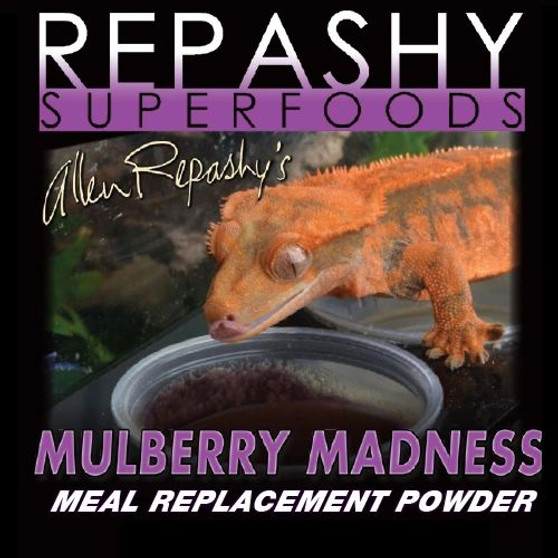 """Repashy, Repashy Superfoods, Crested Gecko MRP """"Mulberry Madness"""" 3 oz JAR"""