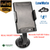 Full HD Wireless WIFI Spy Camera DVR with Night Vision for Car | Phone Holder