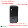 Real Time Mini Hidden Spy Car or Kid GPS Tracker