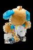 Hidden Nanny 2K Camera DVR with Audio Toy Plush Dog