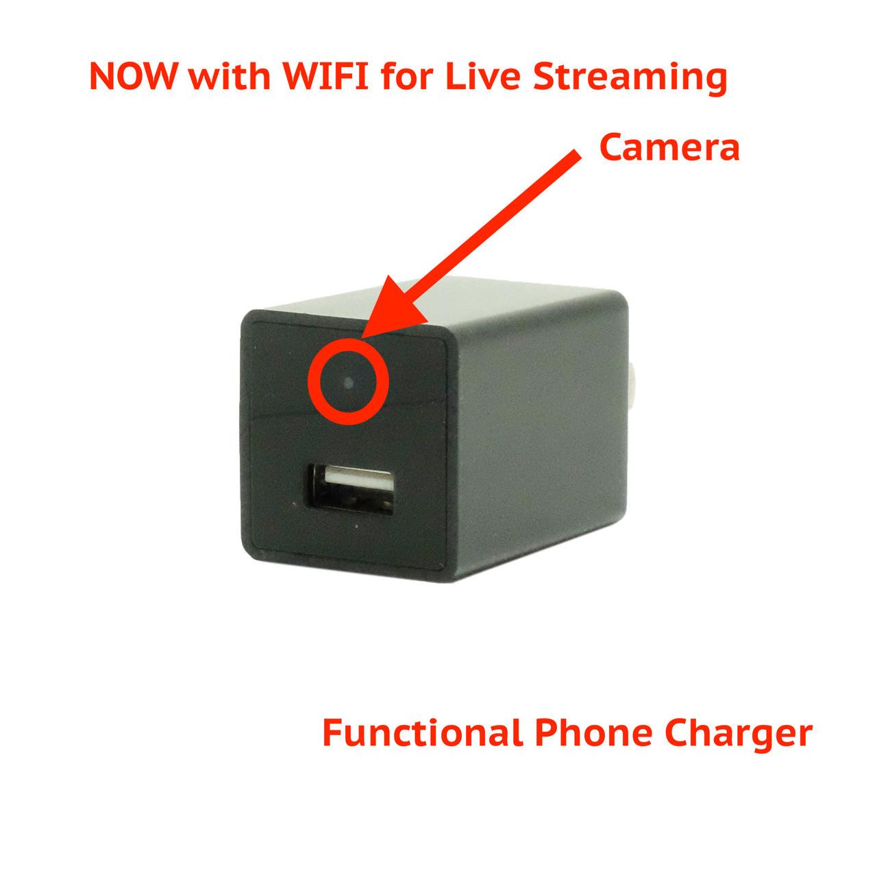 Spy Infrared Wireless Camera Built Into Ordinary Phone USB