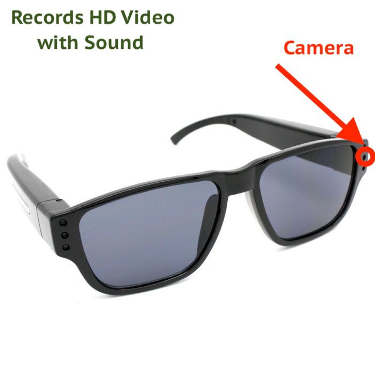 6bd965bc06 720p HD LawMate PV-EG20DL Spy Sunglasses Glasses Video Hidden Camera DVR  Audio