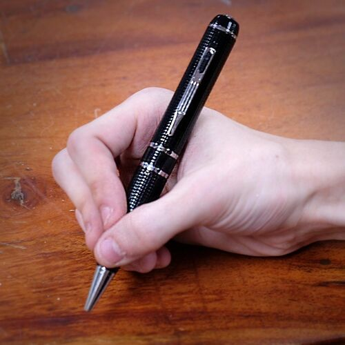 1296P Best 2K Resolution Hidden Spy Pen DVR Camera 16GB Audio Recording