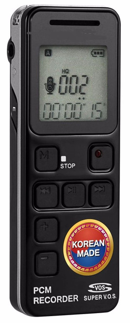 Easy Voice Activated Cell Phone Telephone Open Air Voice Recorder 8 GB