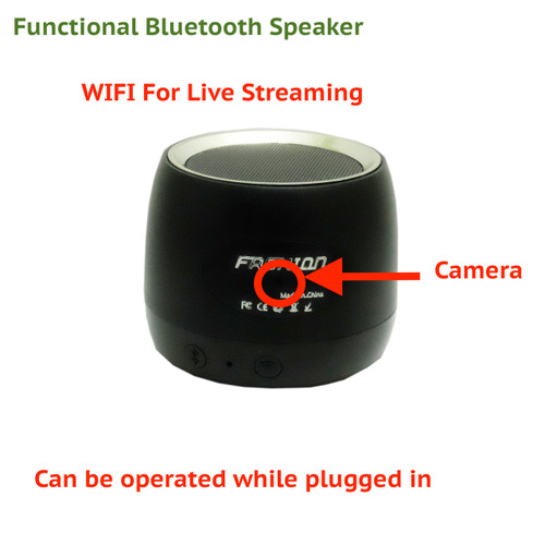 Wireless Spy Camera in Functional Bluetooth Speaker | Hidden Full HD Camera