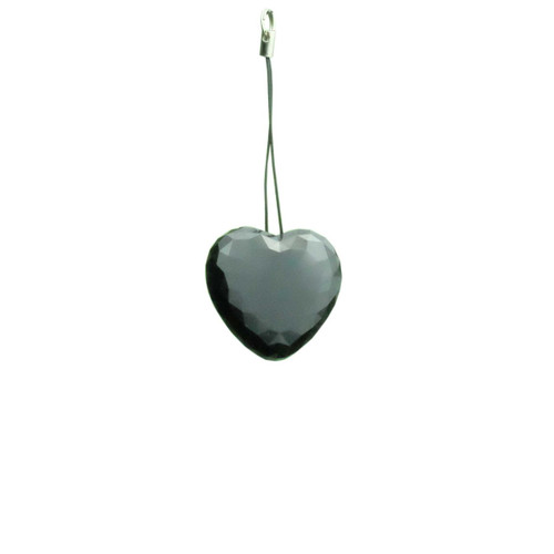 Heart Pendant Body Necklace Hidden Spy Voice Activated Mini Digital Voice Recorder