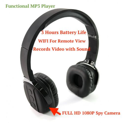 LawMate PV-EP10W Headphones WIFI Full HD Security Camera