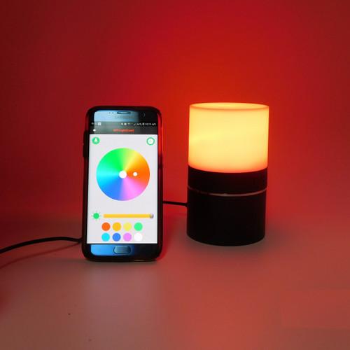 Wireless Spy Rotating Camera Spy Desk Mood Lamp