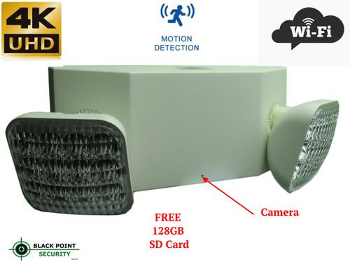 Wireless Security Hidden Spy 4K Camera in Flood Wall Light