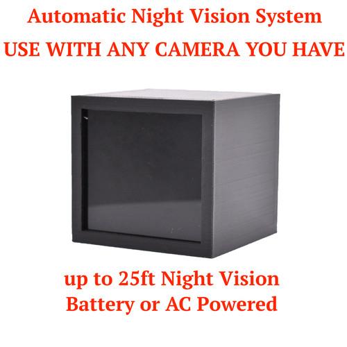 IR Real Automatic AC Battery Powered Night Vision Kit for Spy Hidden Camera