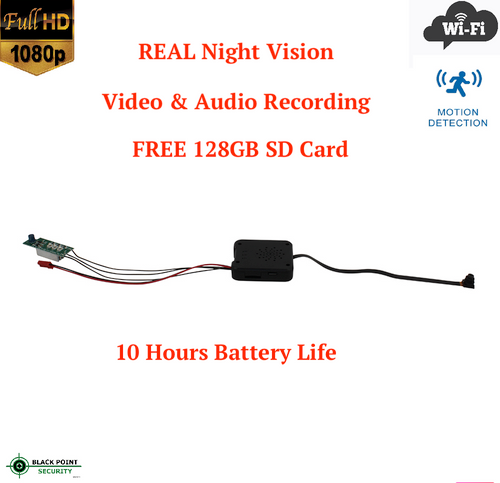 DIY Do it Yourself Hidden WIFI Full HD Camera with Night Vision