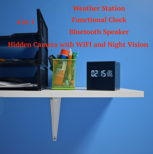 Hidden Night Vision Camera Bluetooth Speaker