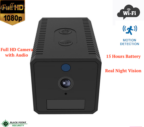 Mini Cube Hidden Wireless WIFI Full HD Camera DVR with Night Vision and Motion Detection