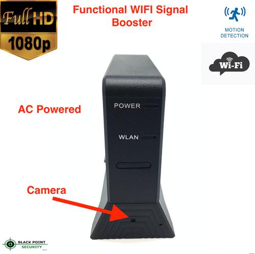 WIFI Signal Booster Hidden Full HD Camera