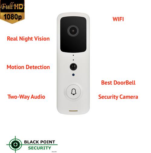 Wireless Smart Video Full HD Doorbell Security Night Vision Motion Camera