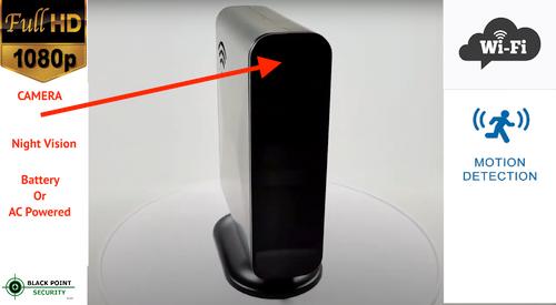 WIFI Router Night Vision Hidden PIR Camera for Bedroom