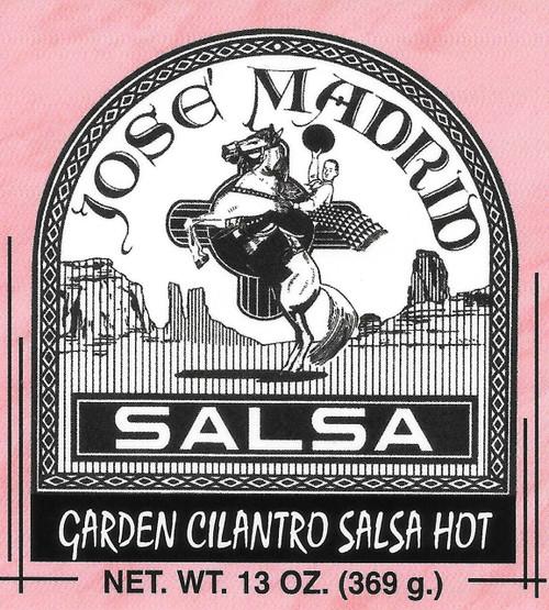 Garden Fresh Cilantro Salsa Hot