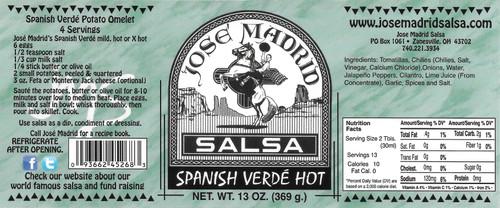 Spanish Verde Hot