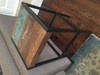 Quebec Solid Reclaimed wood Stool