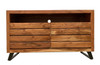 Timbergirl solid acacia wood live edge TV Cabinet