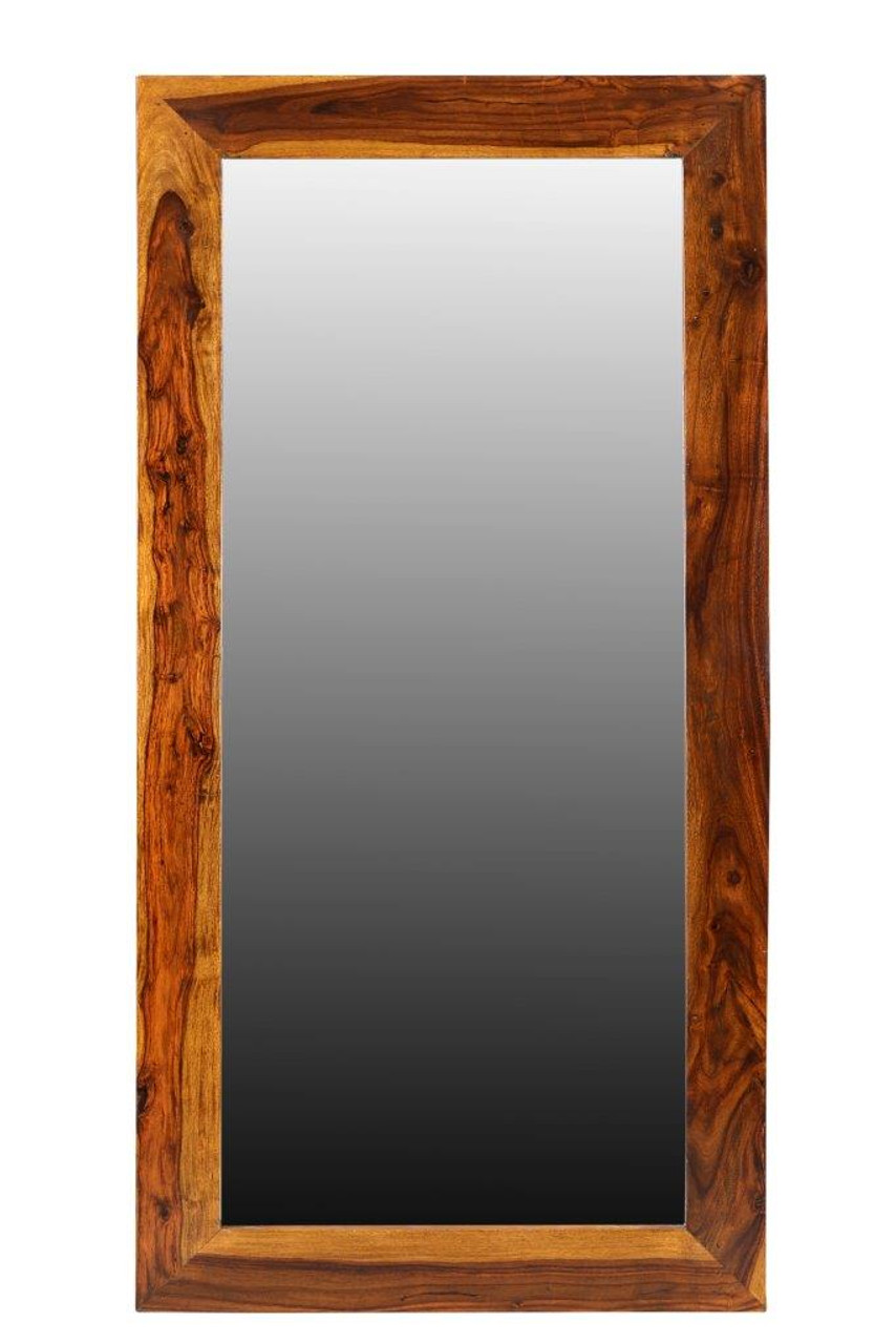Sheesham Wood Mirror Dallas Home Accessories Timbergirl