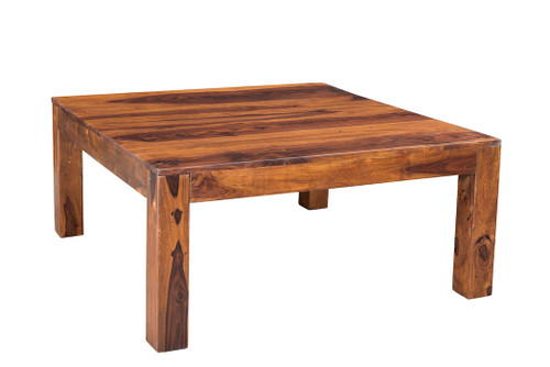 Solid Sheesham Wood Cube Table