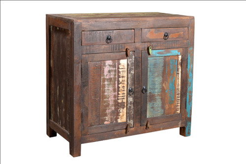 Reclaimed wood 2 Door sideboard