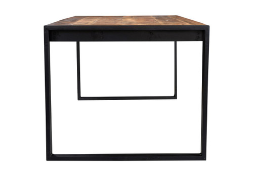 reclaimed Wood Dining Table with Metal Legs  AA1310