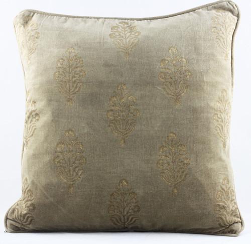 Velvet Cushion Cover - brown