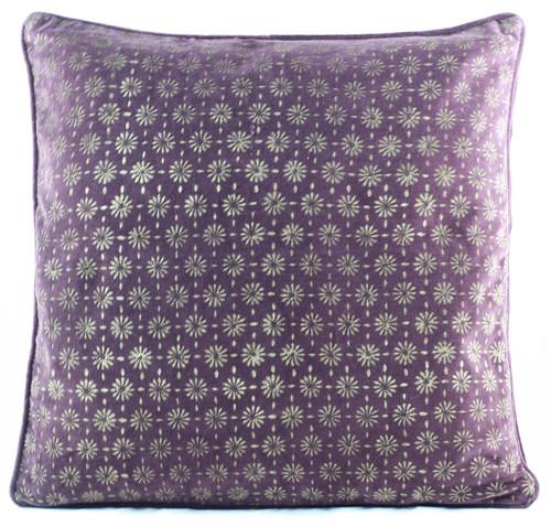 Velvet Cushion Cover - Wine Red
