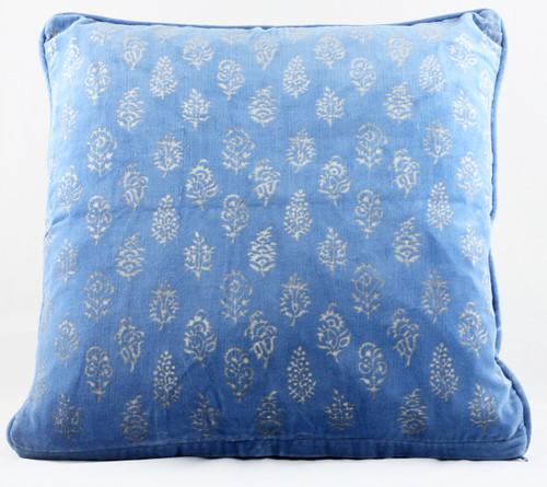 Velvet Cushion Cover - Blue