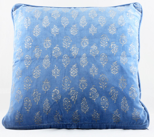 Velvet Cushion Cover - Blue