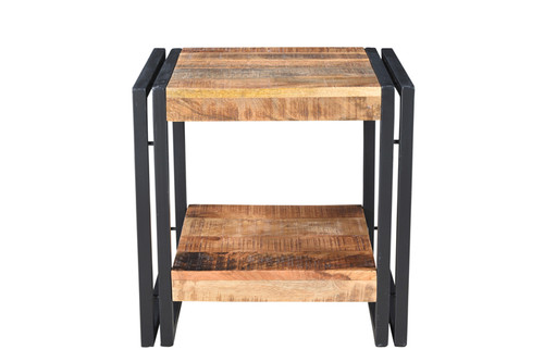 Timbergirl Mango Wood Side Table