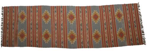 Wool Jute Kilim Rug 2.5'x10' - AA2000R5