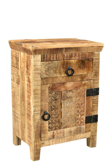 Timbergirl Side Mango Wood Cabinet
